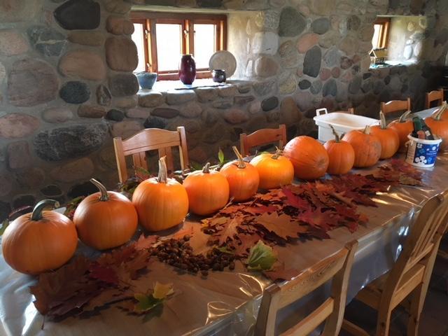 Höst/Halloween pyssel
